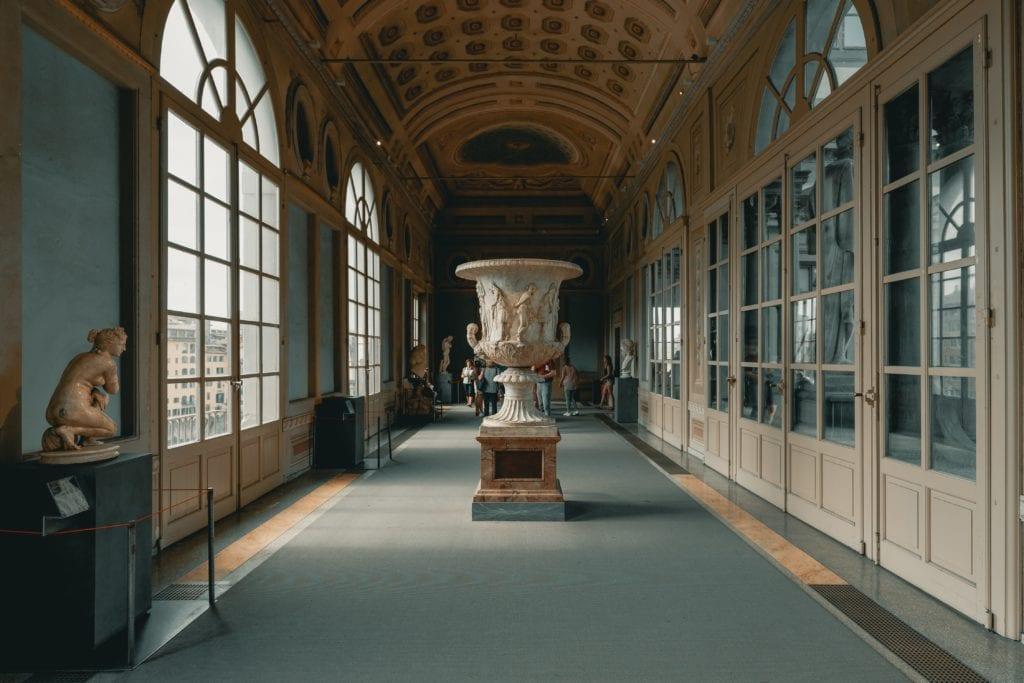 Galeria Uffizi we Florencji, Włochy