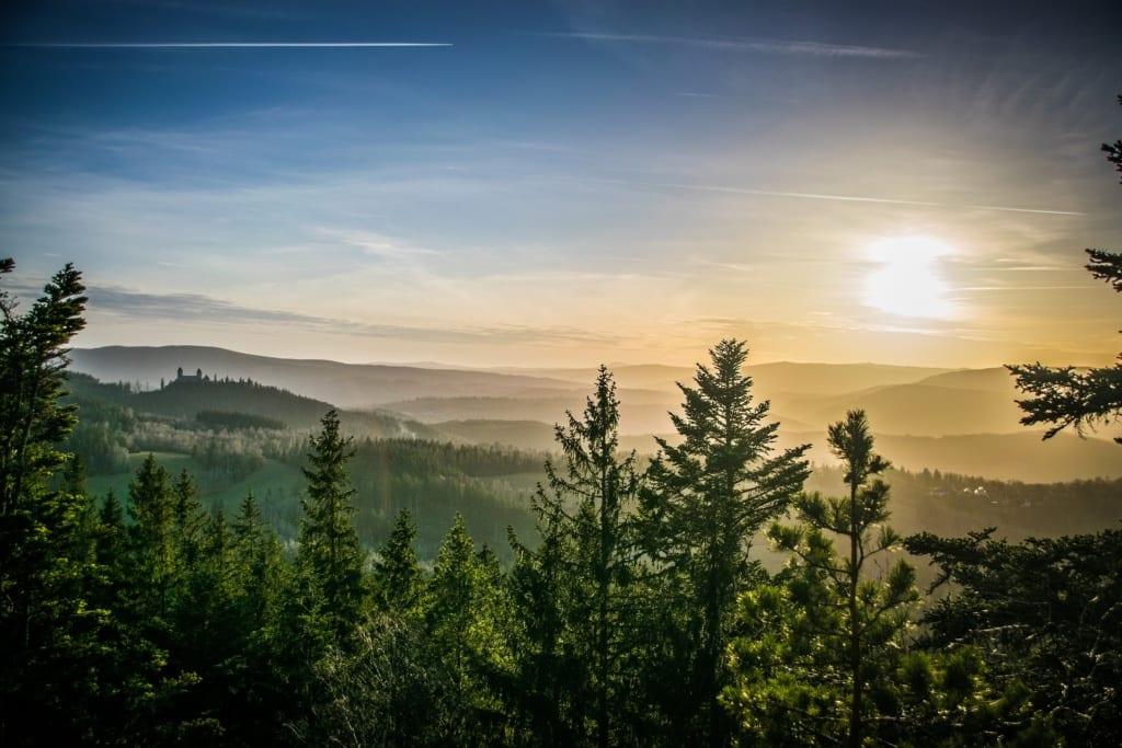 Szumawa to dobre miejsce na turystykę górską, Czechy