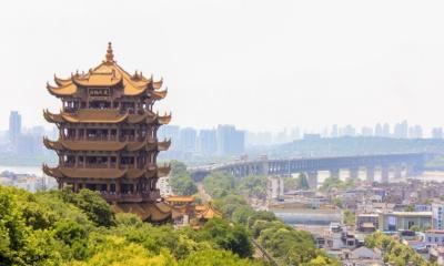 Wieża Żółtego Żurawia, Wuhan,