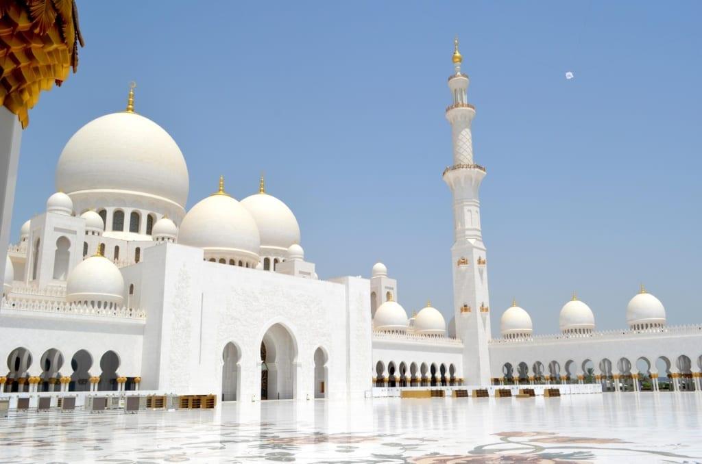 Wielki Meczet Szejka Zajida w Abu Zabi,