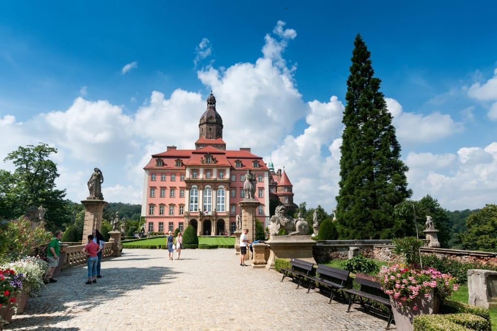 Zamek Książ, fot. Zamek w Niedzicy