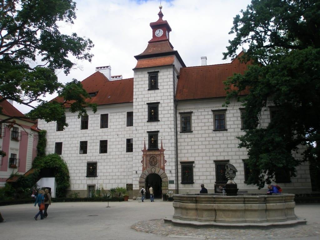 Zamek Trzeboń, Czechy