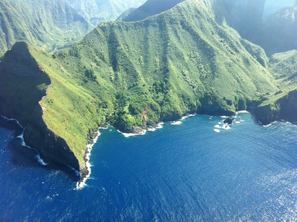 Klify na Molokaʻi, Hawaje