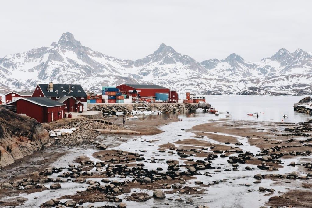 Tasiilaq, Grenlandia,