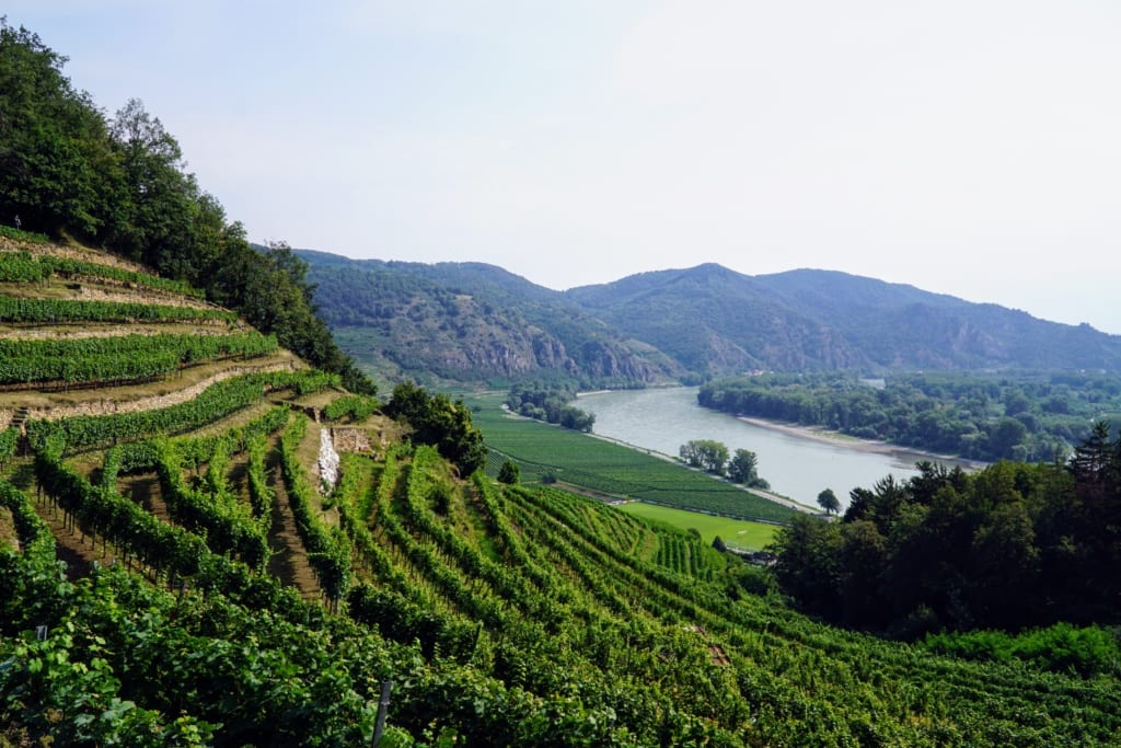 Dolina Wachau, austria