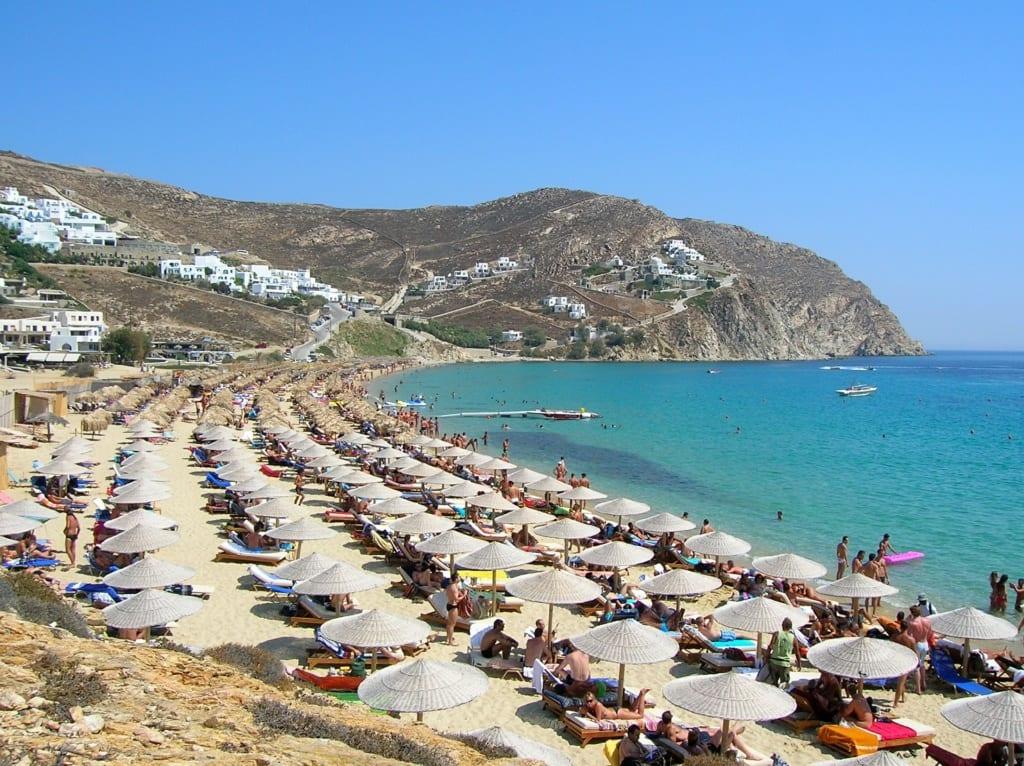 Plaża Elia na Mykonosie, fot. skeeze Pixabay