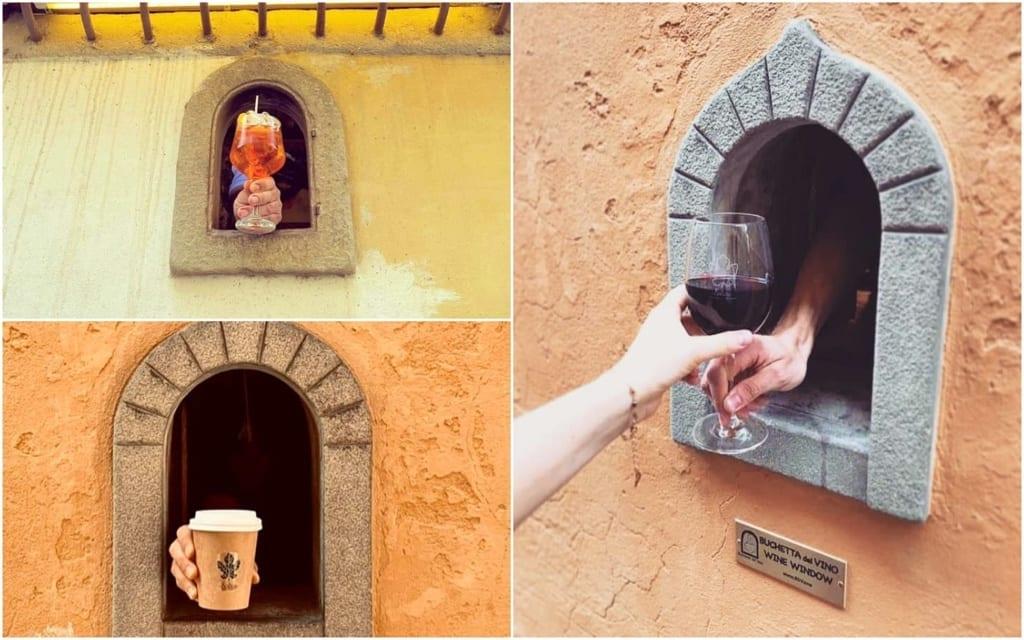 Buchette del Vino, Buchette dek Vino