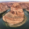Horseshoe Bend, wielki Kanion, USA