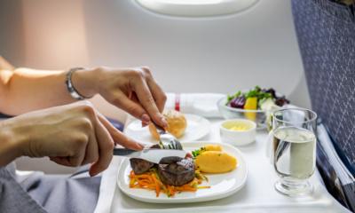 Menu pokładowe, jedzenie w samolocie