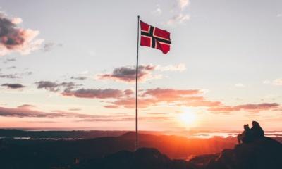 flaga norwegia