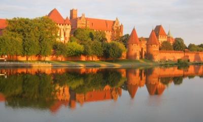 Zamek w Malborku,