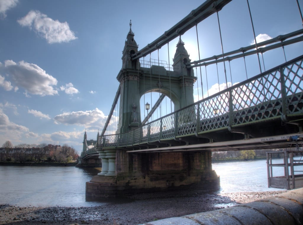 Most Hammersmith w Londynie