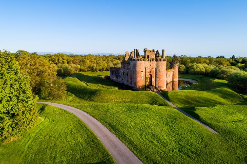 Zamek Caerlaverock, Szkocja
