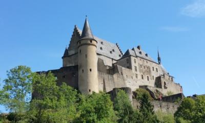 Zamek Vianden w Luksemburgu,