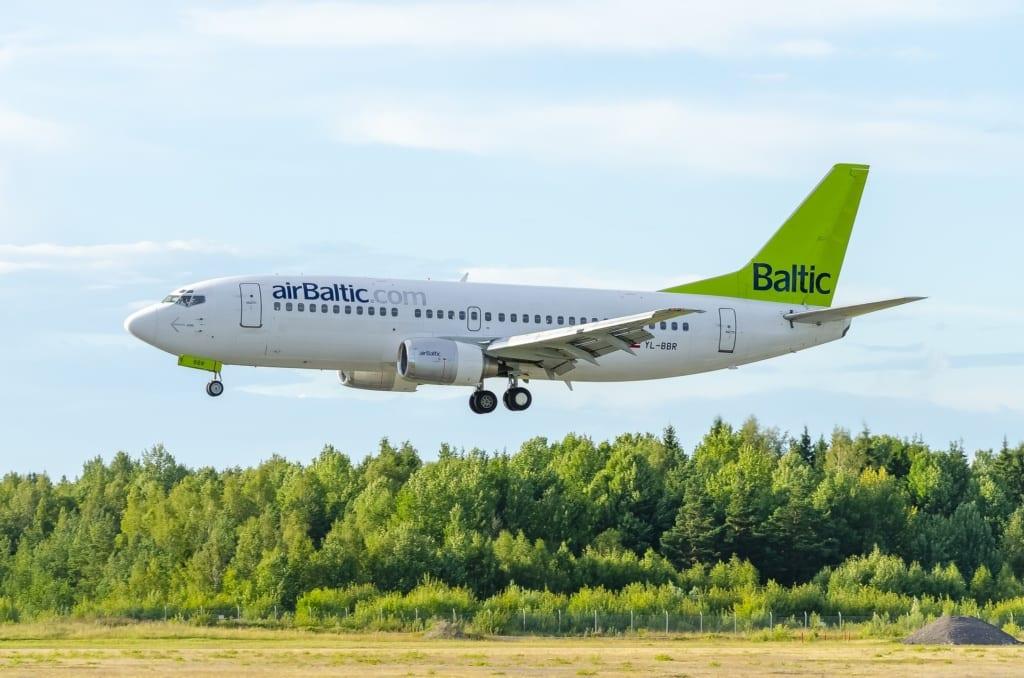 Air Baltic, fot. Johan Widén Pixabay