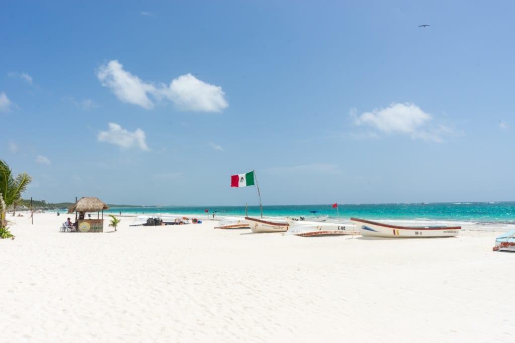 Plaże w Tulum, Meksyk