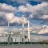 Biały pałac, meczet sułtana Hazreta w Nur-Sultan, Kazachstan