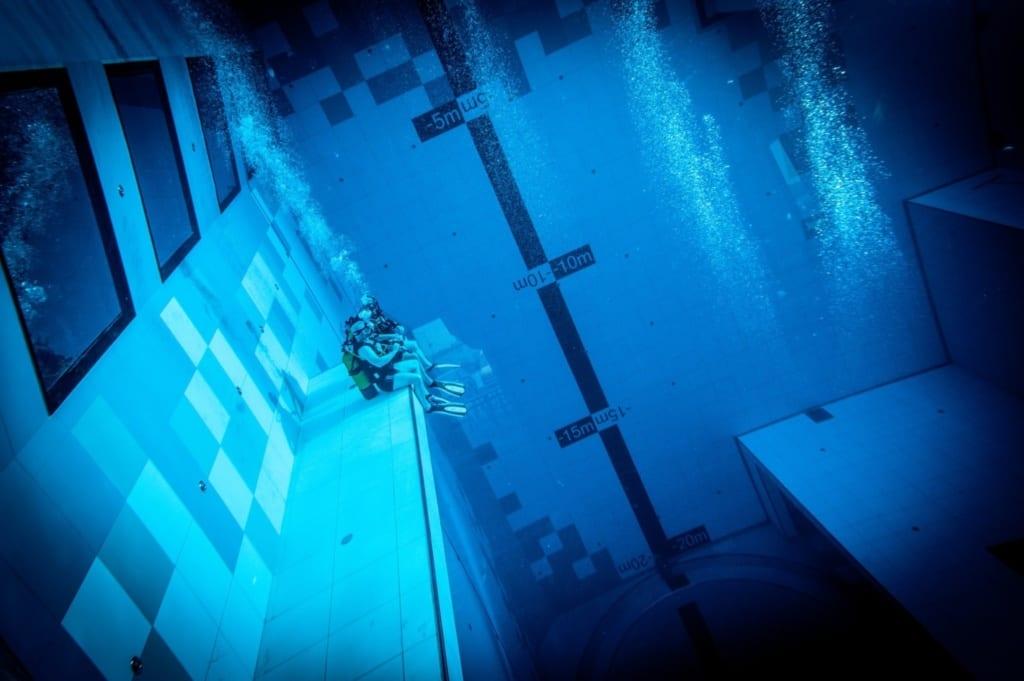 Basen Deepspot, fot. materiały prasowe