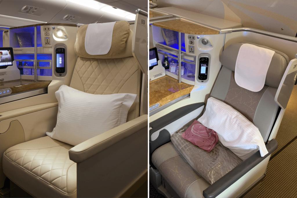 Emirates, klasa biznes, fot. Emirates