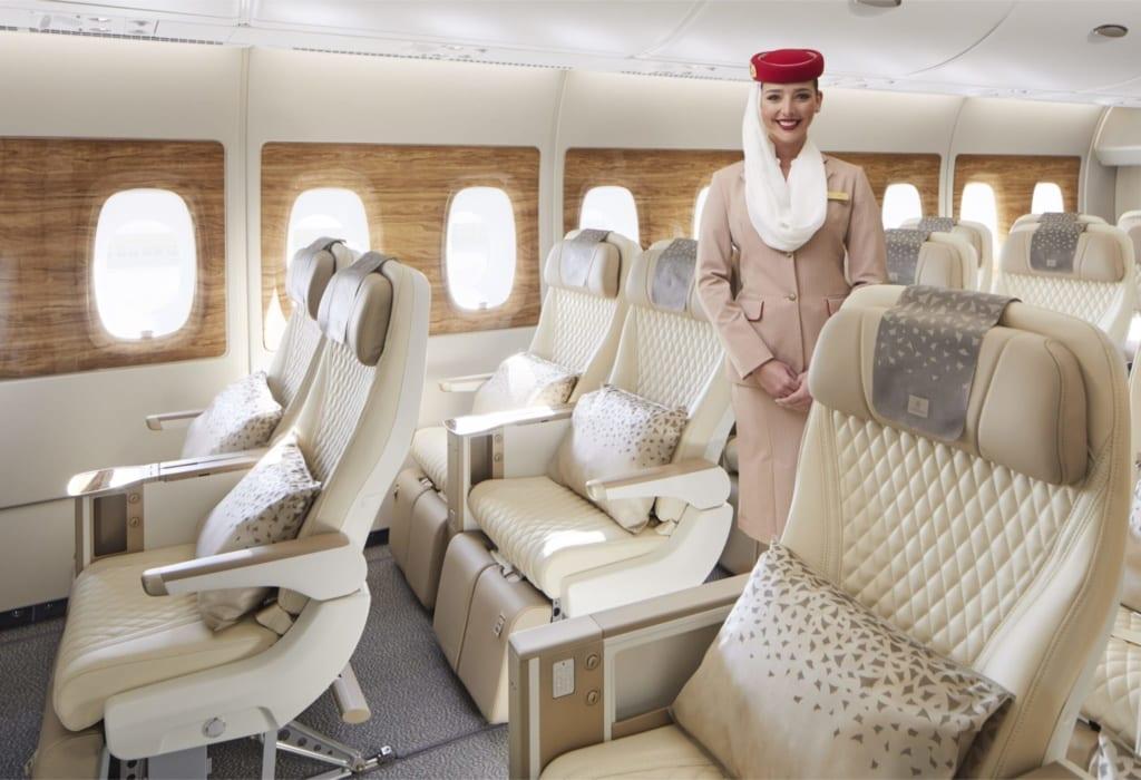 Emirates, klasa Premium Economy, fot. Emirates