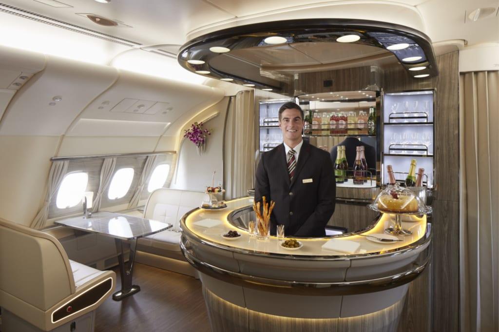 Emirates, klasa pierwsza, fot. Emirates