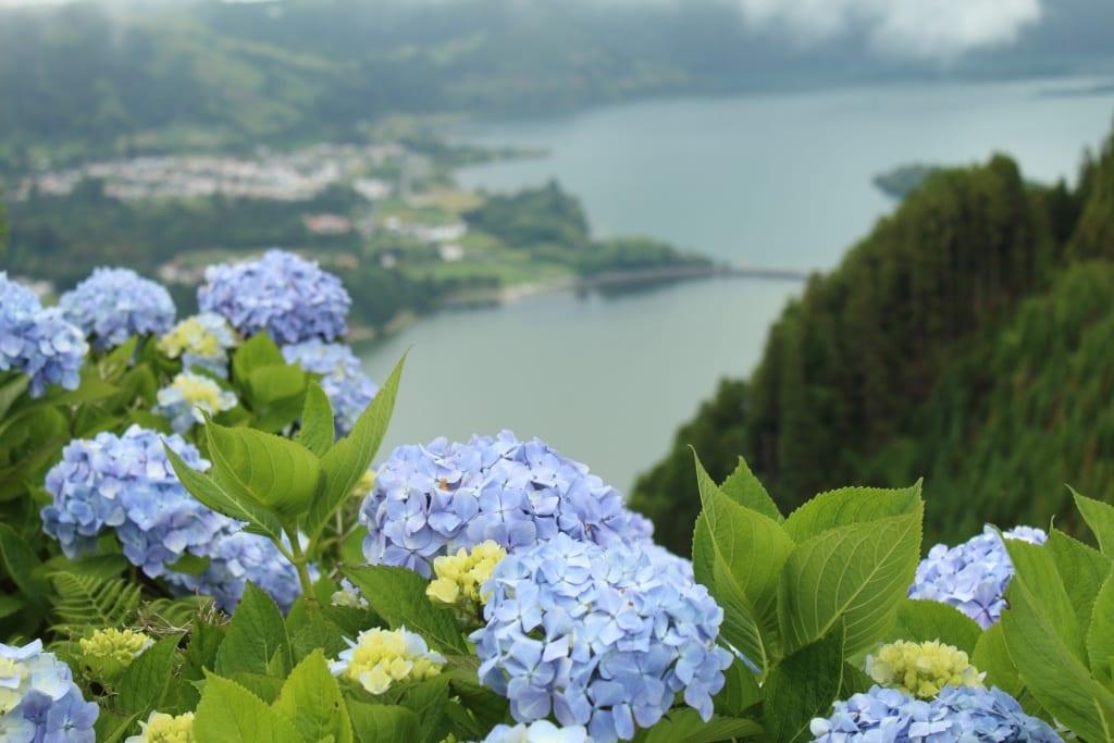 Sete Cidades na Azorach