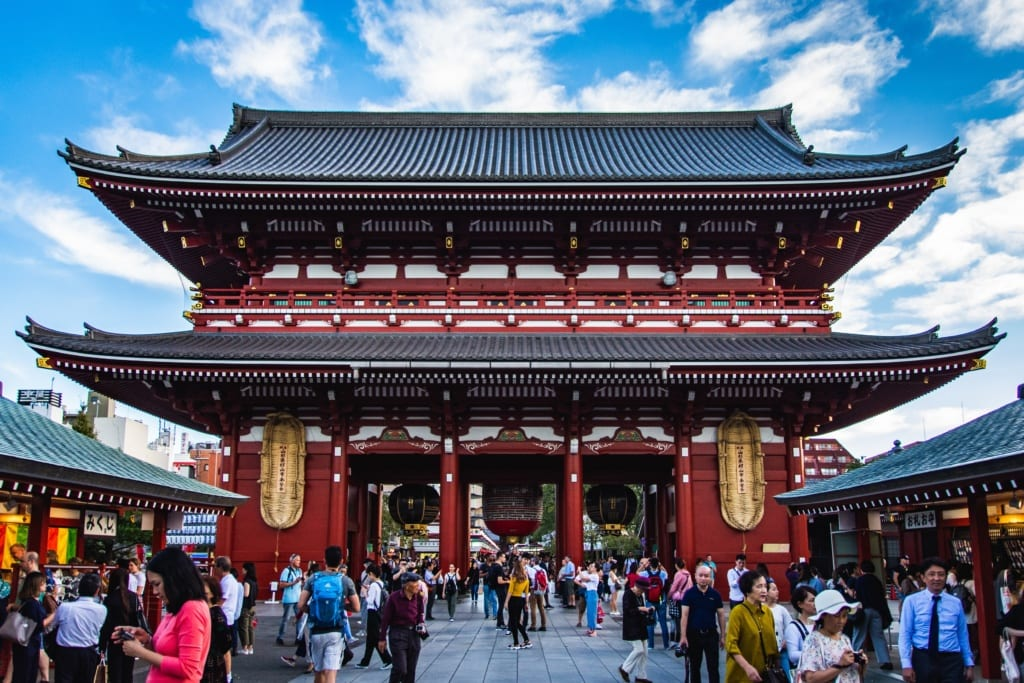 Sensō-ji, Tokio, Japonia