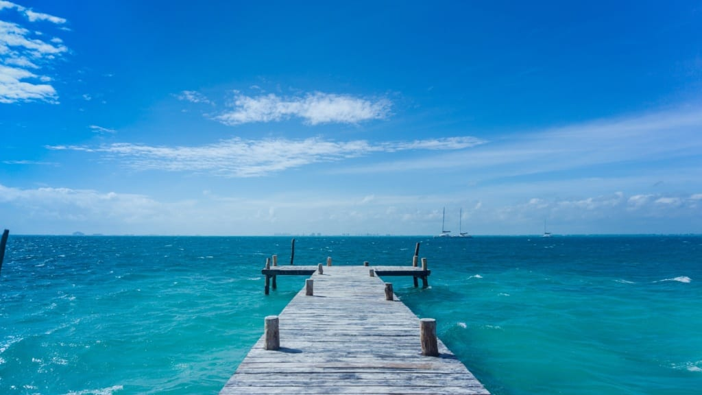 Playa Norte, Isla Mujeres, fot. Jianna Huang Unsplash