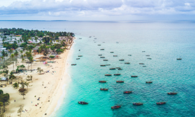 Plaża Nungwi na Zanzibarze, fot. Nick Johanson Shutterstock