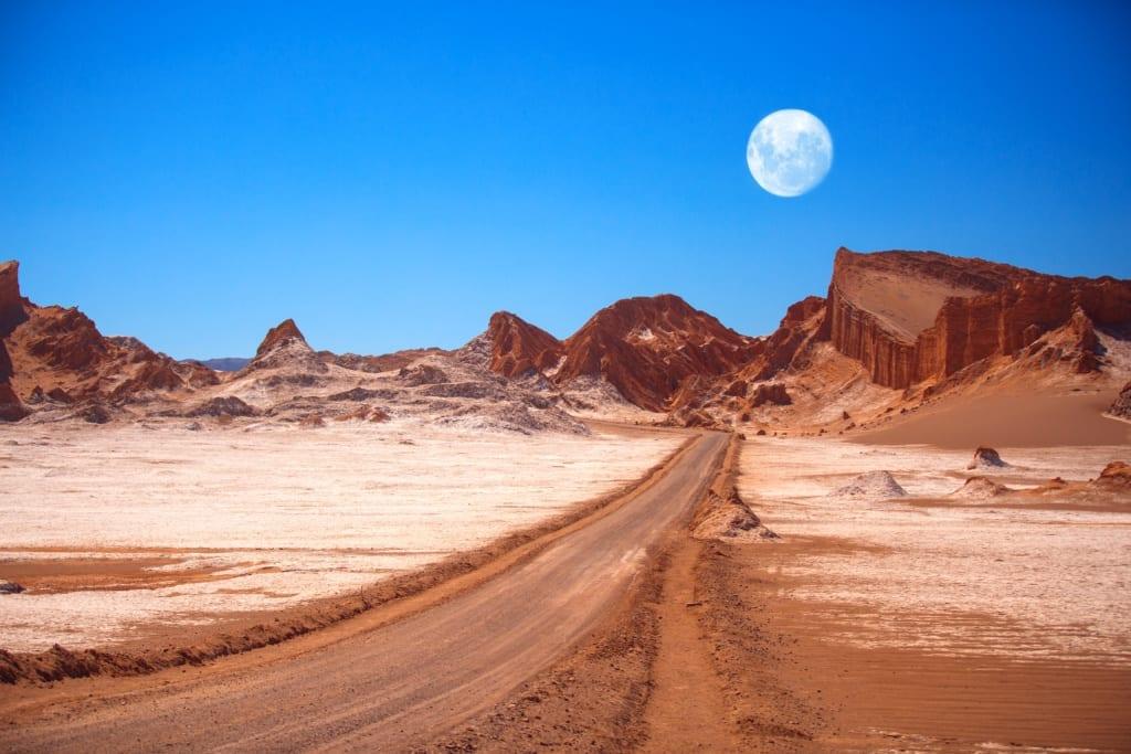 Pustynia Atakama, Chile, fot. Skreidzeleu Shutterstock