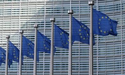 Flaga Unii Europejskiej, fot. Guillaume Périgois Unsplash