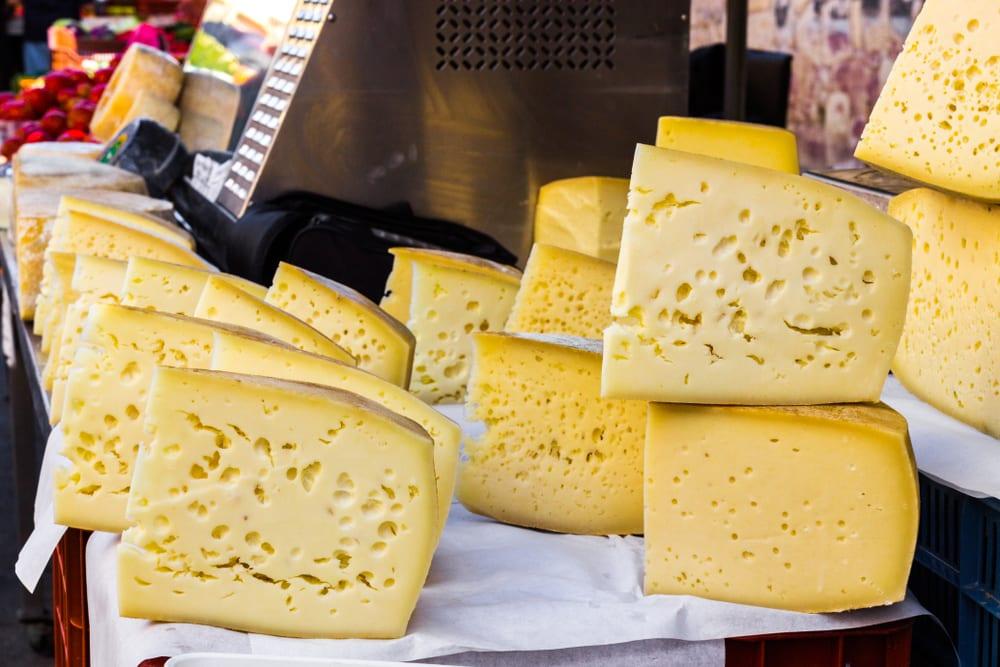 Graviera - słynny ser z Krety, fot. annaj77 Shuttterstock