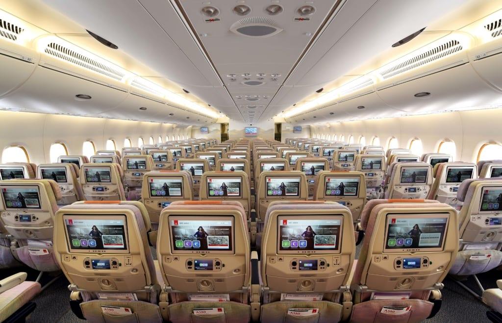 Klasa ekonomiczna Emirates, fot. Emirates