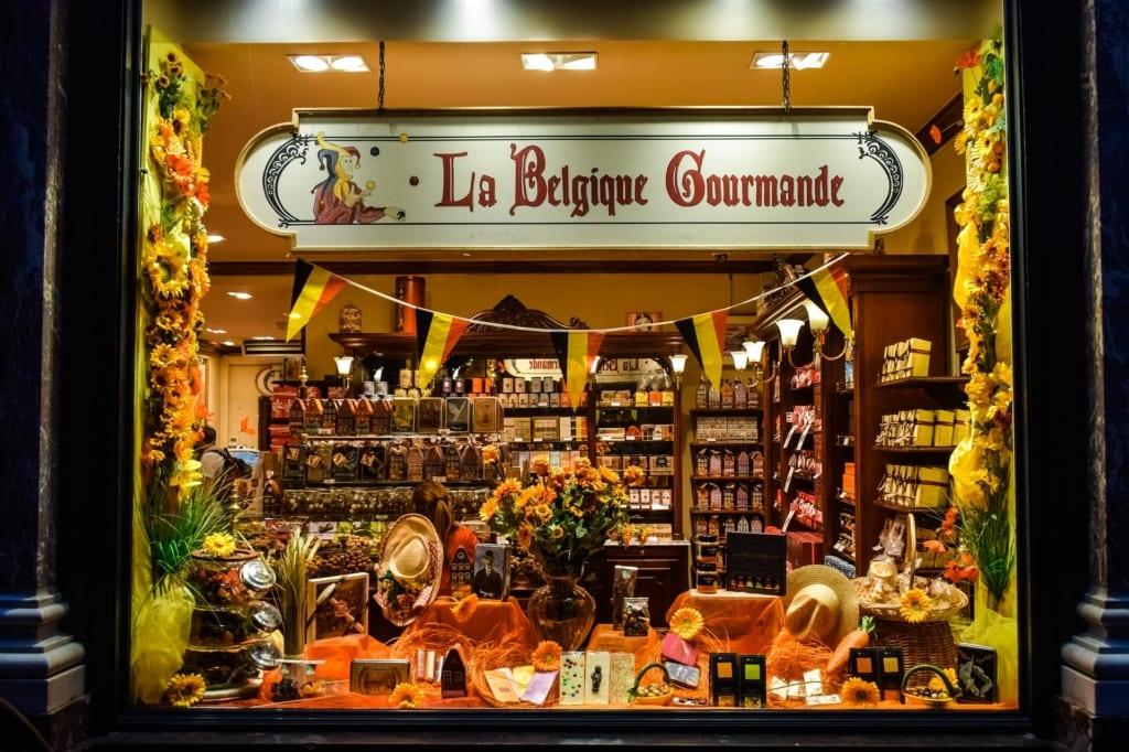 Turyści odwiedzający Belgię, Francję i Irlandię kupują najczęściej jako pamiątkę czekoladę
