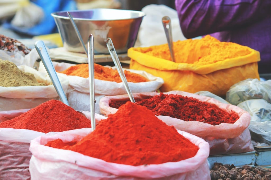 Z Indii turyści przywoźą przyprawy