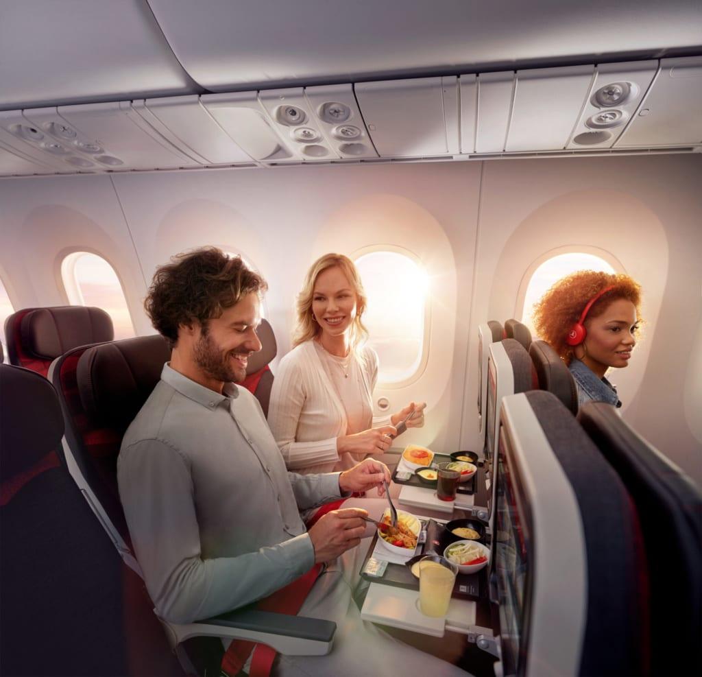 Serwis pokładowy, fot. Turkish Airlines