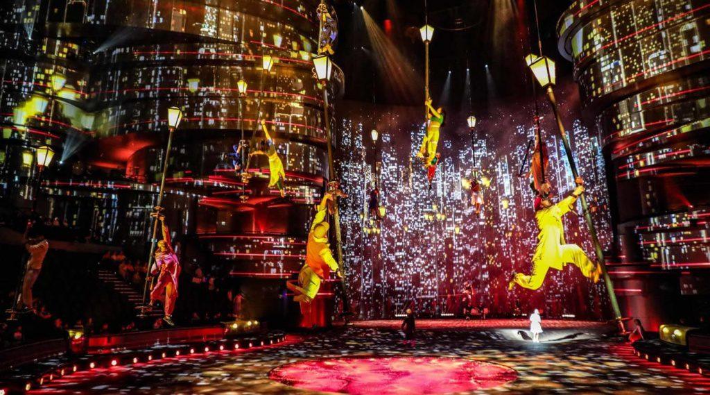 Przedstawienie La Perle w Dubaju to prawdziwy hit