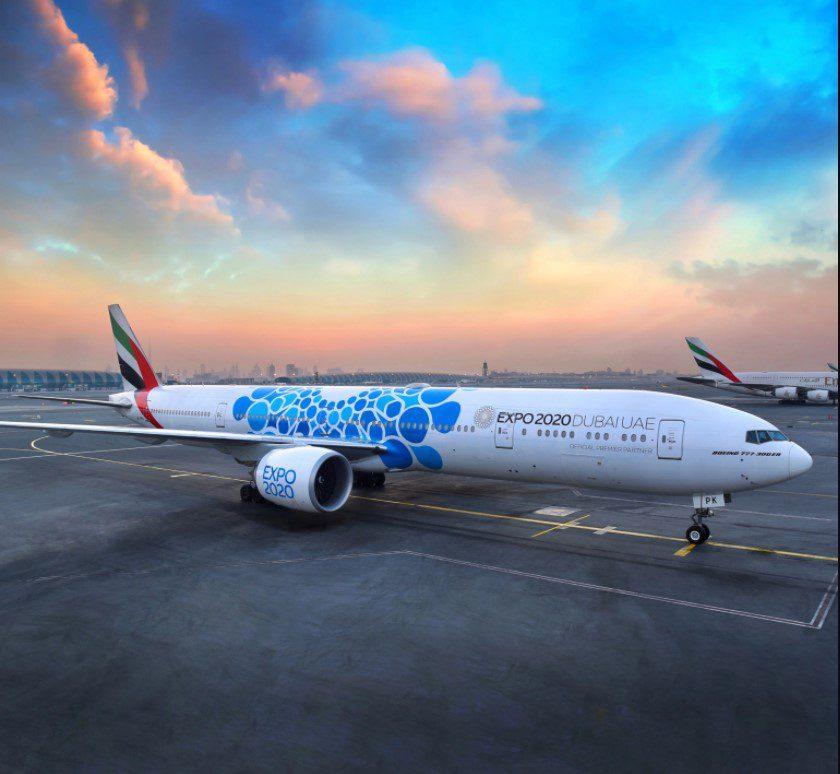 Samolot Emirates, fot. Emirates.jpg