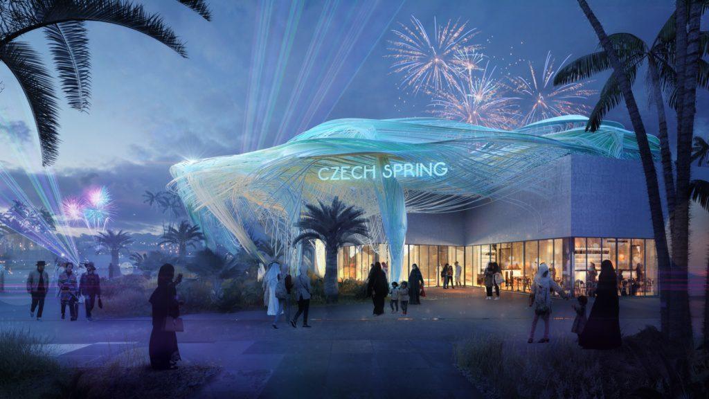 Pawilon Czeski w ramach Expo 202 Dubai