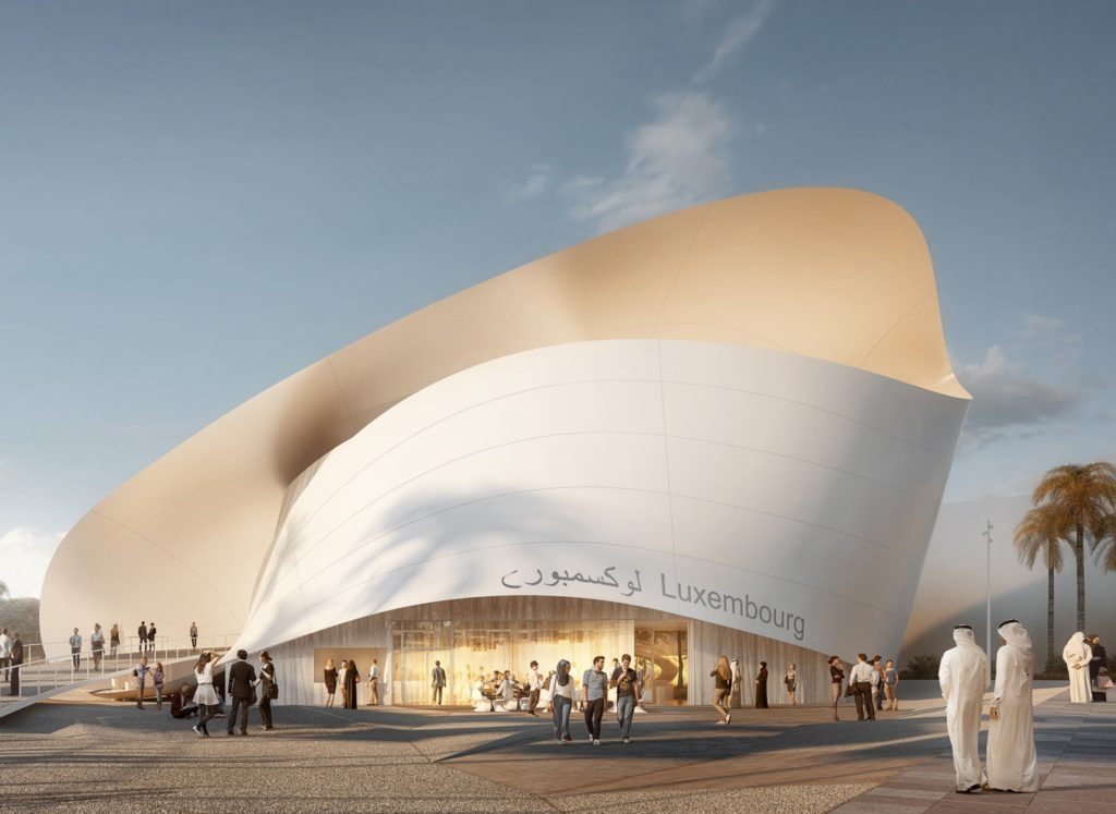 Pawilon Luksemburgu w ramach Expo 2020 Dubai