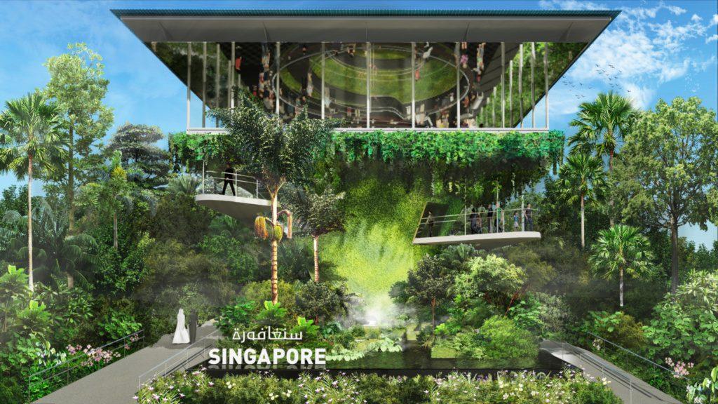 Pawilon Singapurski w ramach Expo 2020 Dubai
